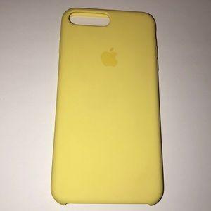 size 40 2284b 10403 Apple iPhone 7 Plus / 8 Plus lemonade yellow case